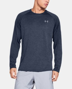 Men's UA Tech™ Long Sleeve  3  Colors Available $30
