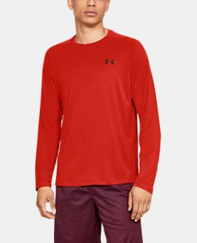 Men's UA Tech™ Long Sleeve  1  Color Available $35