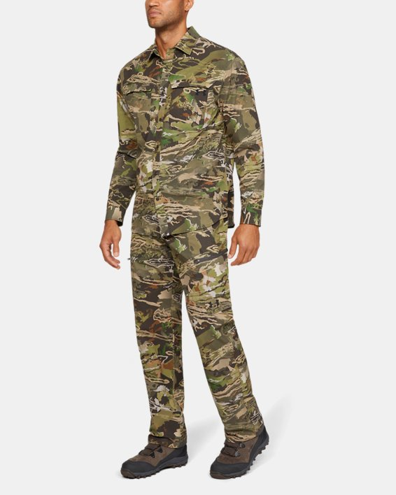 Men's UA ArmourVent™ NFZ Camo Field Pants, Misc/Assorted, pdpMainDesktop image number 1