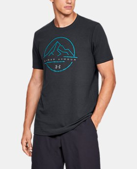 Men's UA Outdoor Graphic Short Sleeve  1  Color Available $25