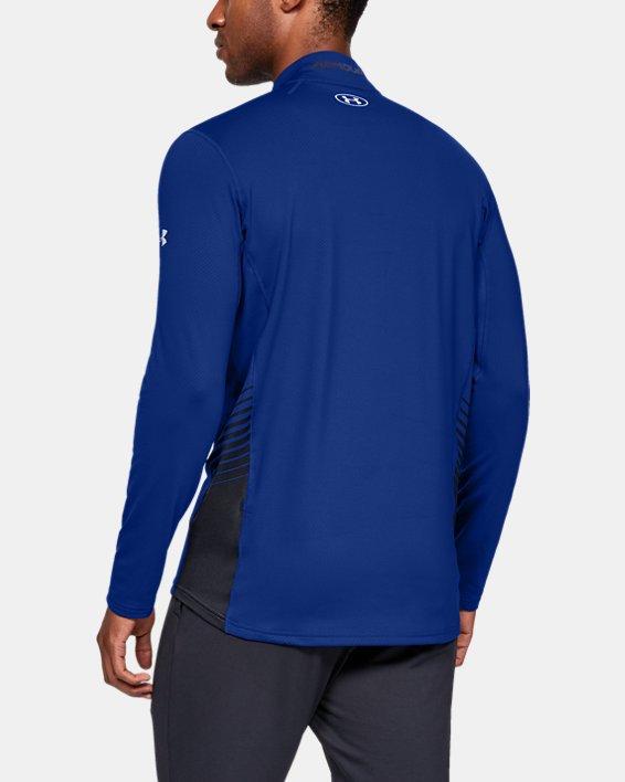 Men's ColdGear® Reactor Long Sleeve Shirt, Blue, pdpMainDesktop image number 2