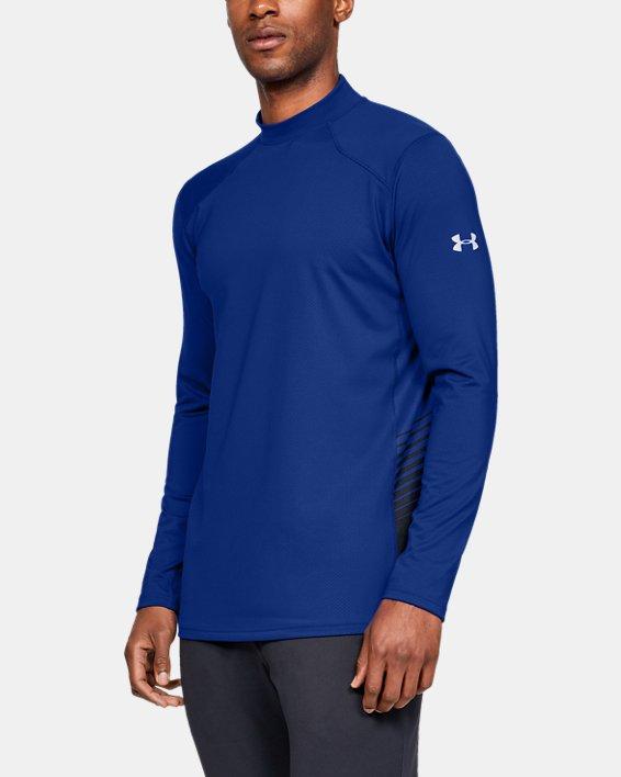 Men's ColdGear® Reactor Long Sleeve Shirt, Blue, pdpMainDesktop image number 0