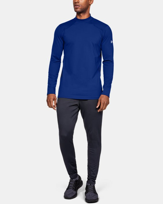 Men's ColdGear® Reactor Long Sleeve Shirt, Blue, pdpMainDesktop image number 1