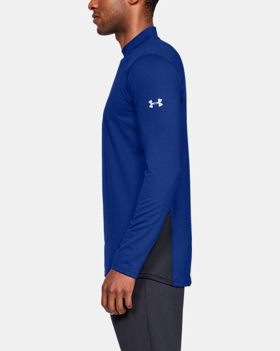 Men's ColdGear® Reactor Long Sleeve Shirt, Blue, pdpMainDesktop image number 3