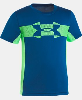 Boys' Pre-School UA Mesh Logo Tech T-Shirt   3  Colors Available $25