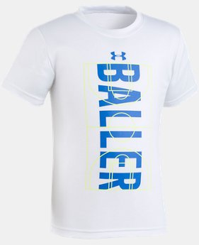 Boys' Pre-School UA Baller T-Shirt  1  Color Available $18