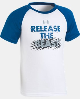 New to Outlet Boys' Pre-School UA Release The Beast T-Shirt  1  Color Available $15