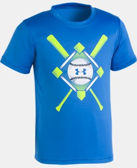 New Arrival Boys' Toddler UA Baseball Anthem T-Shirt   1  Color Available $18