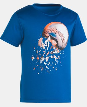 Boys' Pre-School UA Baseball Explosion T-Shirt  1  Color Available $18