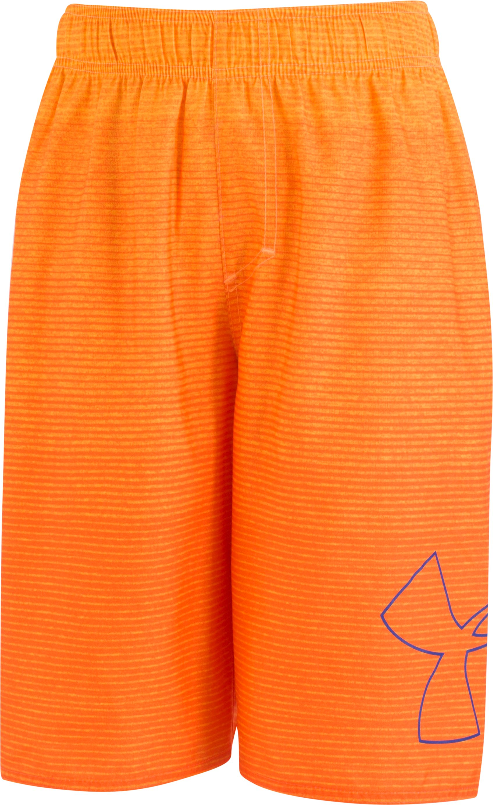 Boys' Toddler UA Fader Icon Volley , MAGMA ORANGE, Laydown