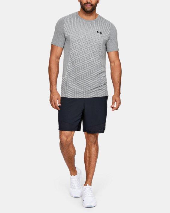 Haut à manches courtes sans coutures UA Vanish pour homme, Gray, pdpMainDesktop image number 1