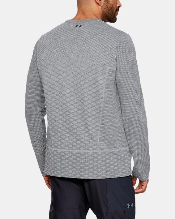 Men's UA Vanish Seamless Long Sleeve, Gray, pdpMainDesktop image number 2