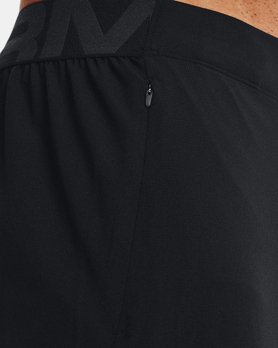 Men's UA Vanish Woven Pants, Black, pdpMainDesktop image number 5