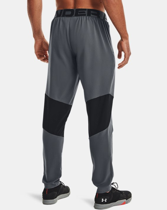 Men's UA Vanish Woven Pants, Gray, pdpMainDesktop image number 3