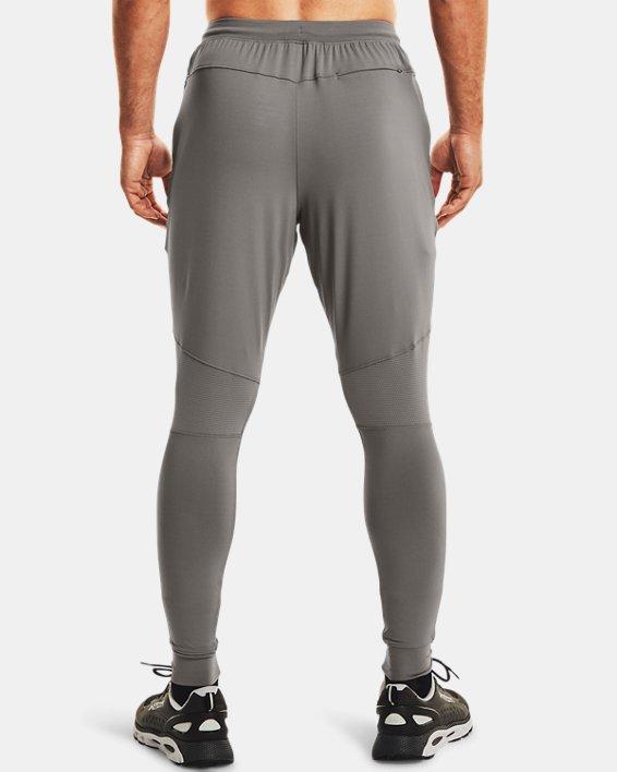 Men's UA RUSH™ Fitted Pants, Gray, pdpMainDesktop image number 2