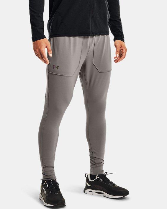 Men's UA RUSH™ Fitted Pants, Gray, pdpMainDesktop image number 1