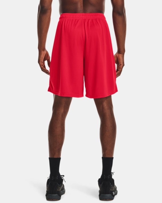 Men's UA Tech™ Mesh Shorts, Red, pdpMainDesktop image number 2