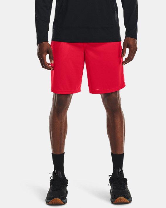Men's UA Tech™ Mesh Shorts, Red, pdpMainDesktop image number 1