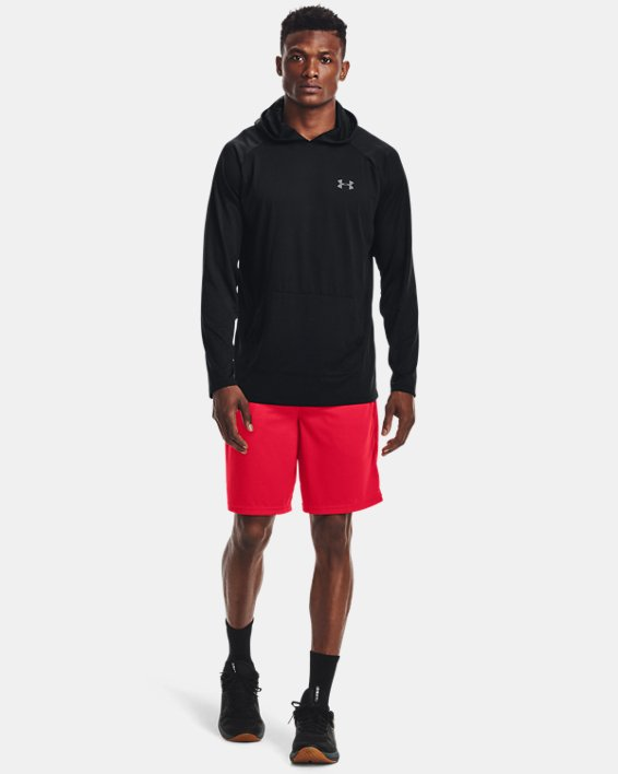 Men's UA Tech™ Mesh Shorts, Red, pdpMainDesktop image number 3
