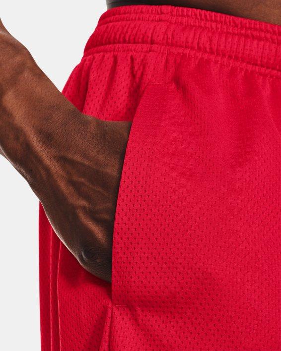Men's UA Tech™ Mesh Shorts, Red, pdpMainDesktop image number 4