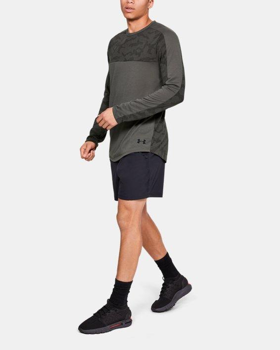 Men's UA Siro Elite Long Sleeve, Gray, pdpMainDesktop image number 1