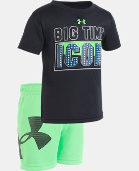 New Arrival Boys' Infant UA Big Time Icon Set  1 Color $28