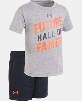 New Arrival Boys' Infant UA Future Hall Of Famer Set   1  Color Available $28