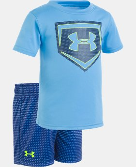 Boys' Infant UA Sync Homeplate Set   1  Color Available $33