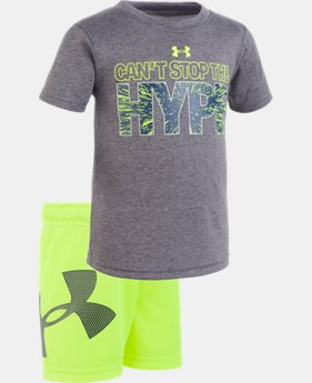 Boys' Infant UA Can't Stop the Hype Set   1  Color Available $28