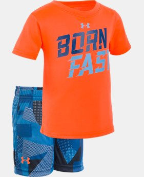 Boys' Infant UA Born Fast Set   1  Color Available $33