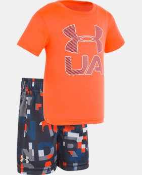 New Arrival Boys' Infant UA Stacked Set  FREE U.S. SHIPPING 1  Color Available $33