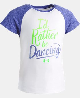 Girls' Toddler UA I'd Rather Be Dancing T-Shirt   1  Color Available $20