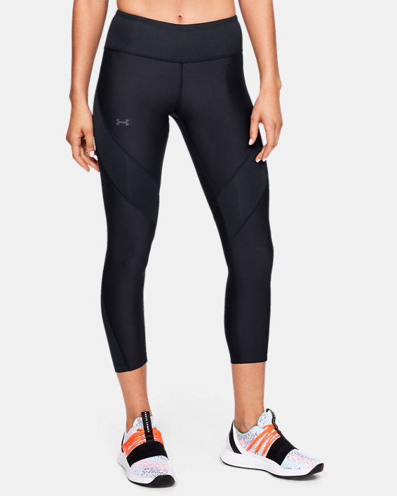 Women's UA Vanish Crop, Black, pdpMainDesktop image number 0