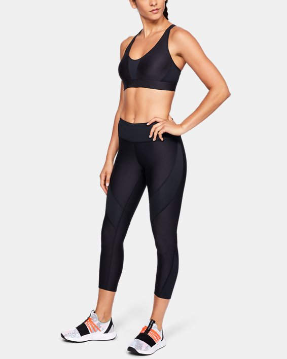 Women's UA Vanish Crop, Black, pdpMainDesktop image number 1