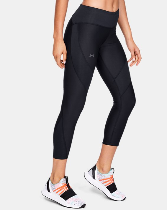 Women's UA Vanish Crop, Black, pdpMainDesktop image number 3