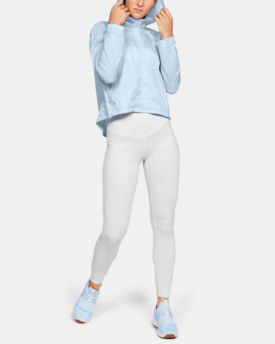 Women's UA Hybrid Woven Jacket, Blue, pdpMainDesktop image number 1