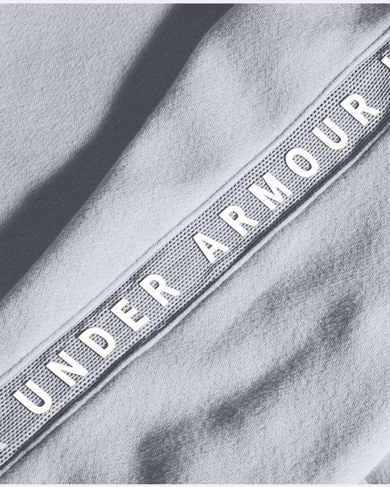 Women's UA Taped Fleece Full Zip, Gray, pdpMainDesktop image number 5