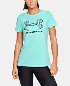 Women's UA Tech™ Short Sleeve Graphic LIMITED TIME ONLY 7  Colors Available $16.99 to $22.98