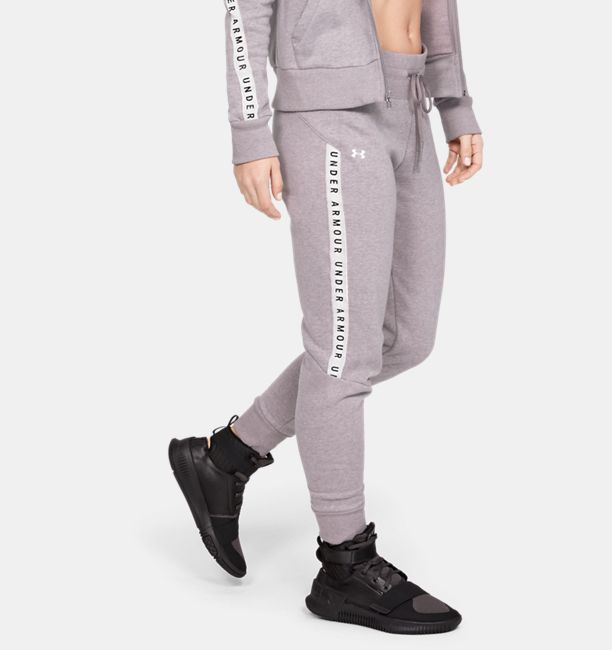 Under Armour Womens Taped Fleece Pants