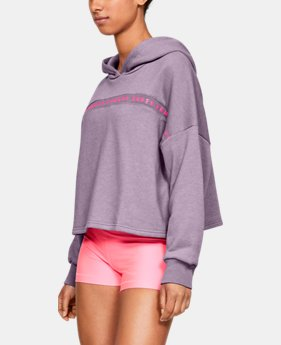 27441088edf2 Women s UA Taped Fleece Hoodie 2 Colors Available  37.99