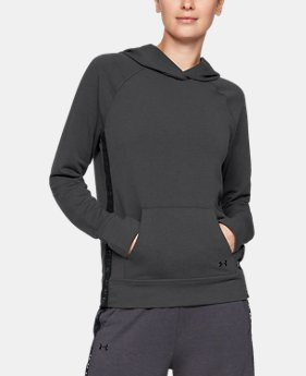 33504d3b92e7 Women s UA Featherweight Fleece Hoodie 2 Colors Available  60