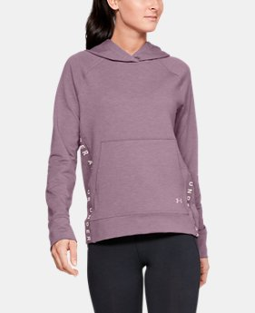 3813f592dba Women s UA Featherweight Fleece Hoodie 2 Colors Available  60