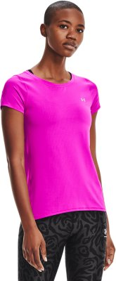 Under Armour UA Heatgear Armour Sleeve T-Shirt Femme UA HG Armour SS