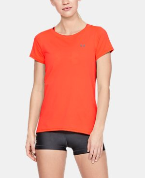 Women's Orange Training Short Sleeve Shirts | Under Armour US