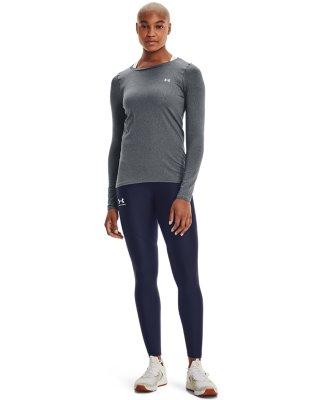 Black Medium Heather////Metallic Silver Under Armour Recovery Kit Long Sleeve XX-Large