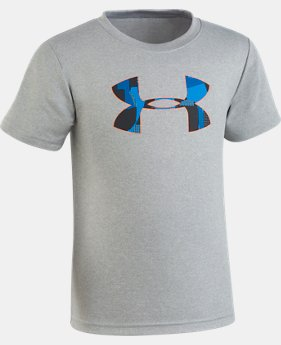 Boys' Toddler UA Alpha Big Logo T-Shirt   1  Color Available $18