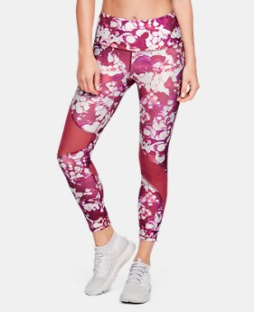 142b3710 New to Outlet Women's HeatGear® Armour Ankle Crop Print 3 Colors Available  $41.99