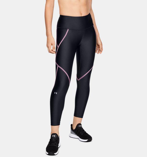 c3bb5eed42c0b9 Women's HeatGear® Armour Ankle Crop Edgelit | Under Armour US