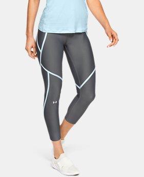 4e32241e217 Women s HeatGear® Armour Edgelit Ankle Crop 2 Colors Available  37.99