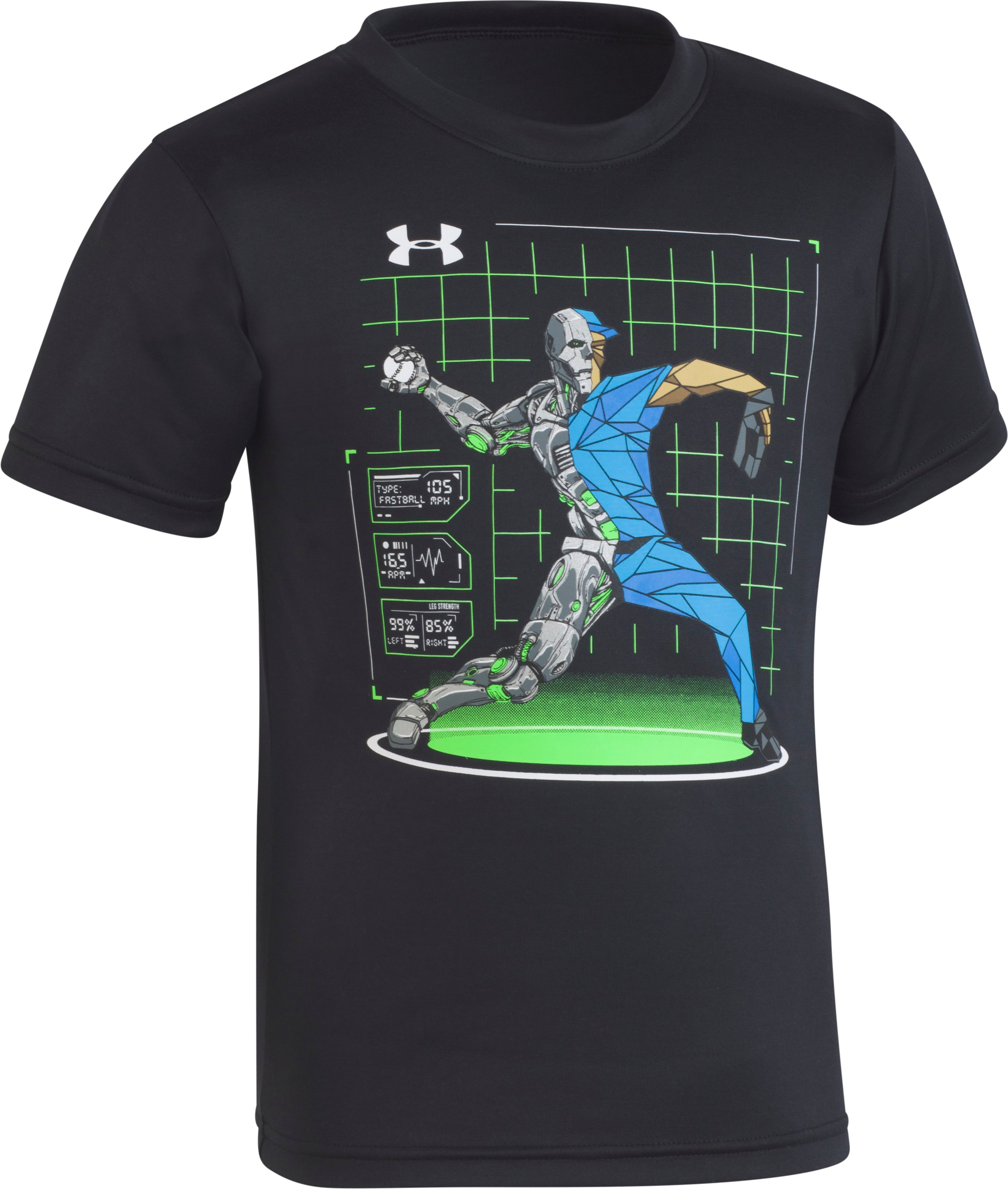 Boys' Toddler UA Baseball Hybrid T-Shirt 1 Color $18.00